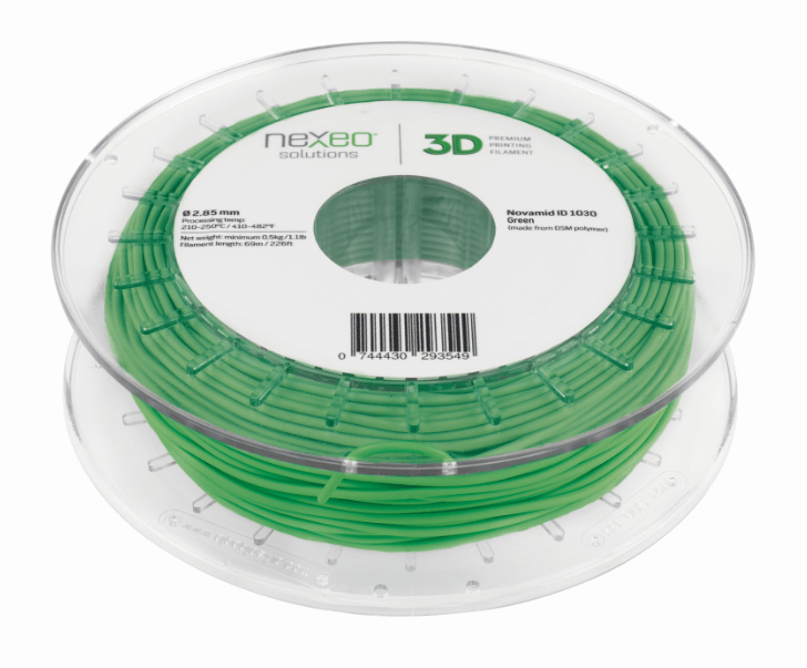 Nexeo 3D filament on a spool